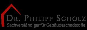 Sachverständiger Schimmel Schadstoffe Dr. Philipp Scholz